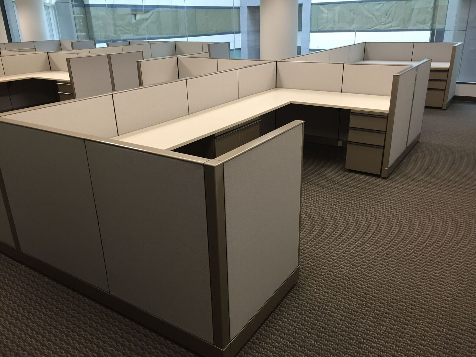 New Penn Financial, (Texas location) – Refurbished Ethospace Workstations 2015