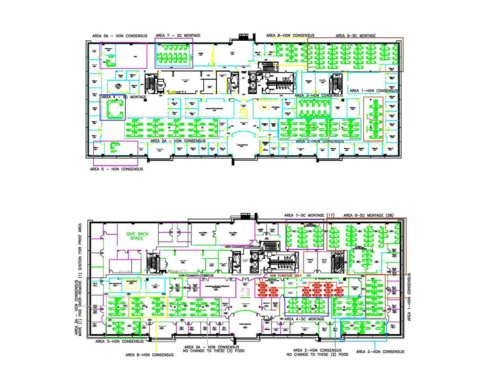 Randstad (Frisco, TX) - New Space Plan for Reconfiguration 2016